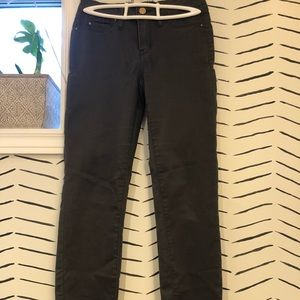 Gray RW&Co work pants